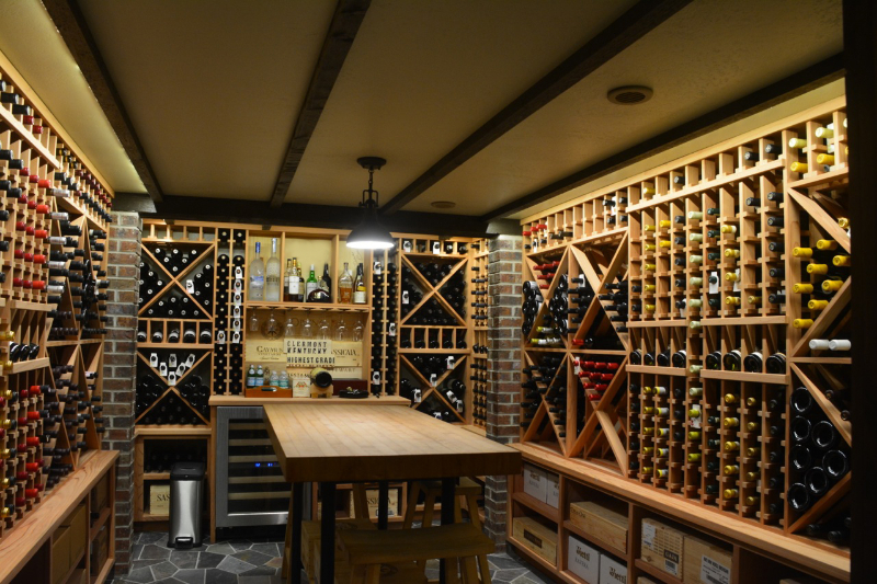 Gen1 Architectural Custom Wine Cellar West Michigan